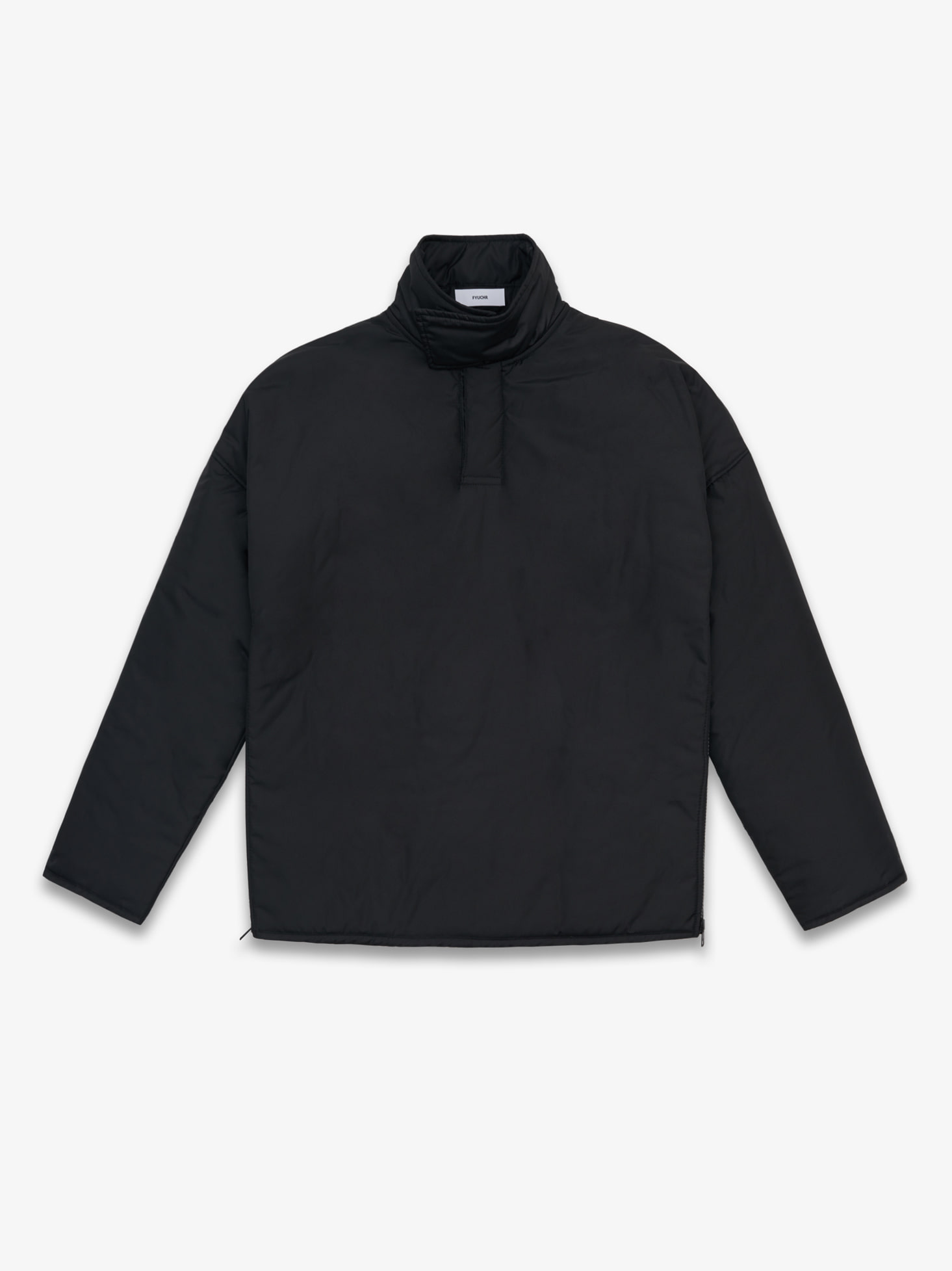 HIGH NECK PULLOVER (BLACK)