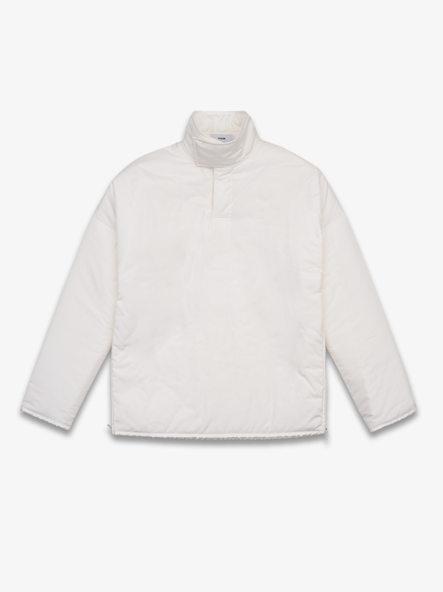 HIGH NECK PULLOVER (WHITE)